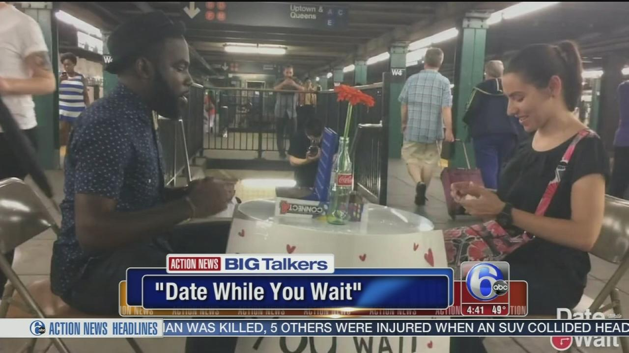 VIDEO: Date While You Wait at Suburban Station