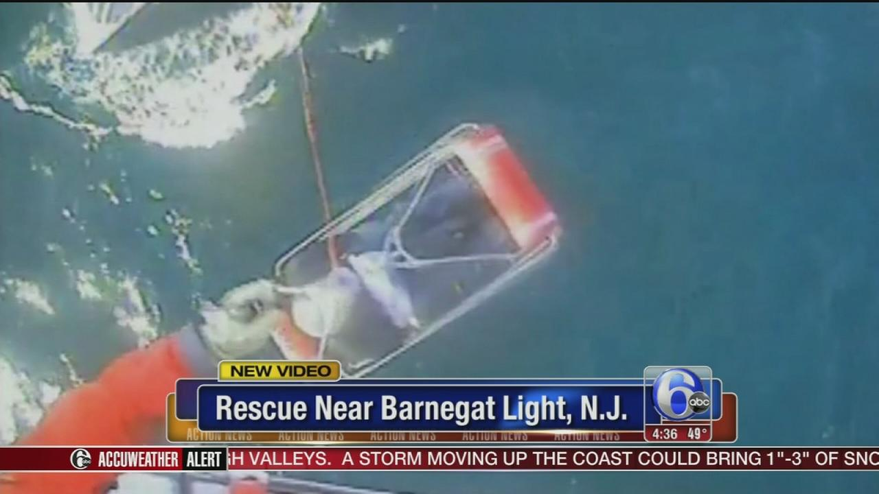 VIDEO: Barnegat Light rescue