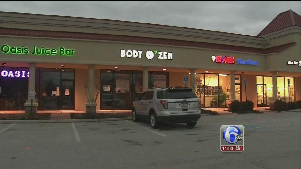 VIDEO: Massage parlor raid
