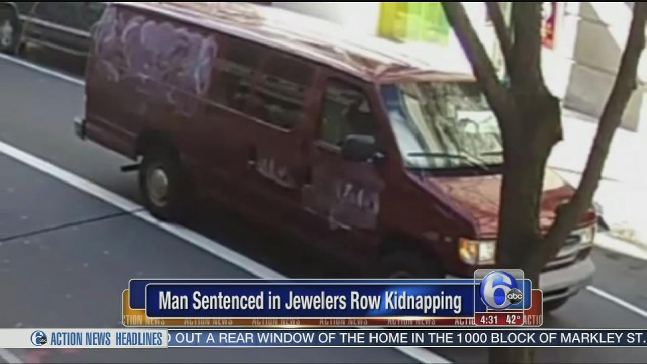 VIDEO: Man sentenced in Jewelers Row kidnapping