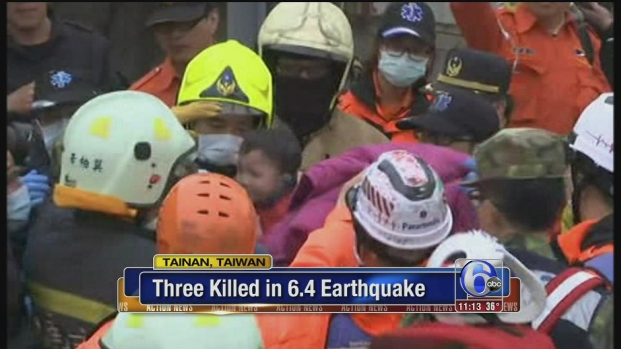 VIDEO: Taiwan quake