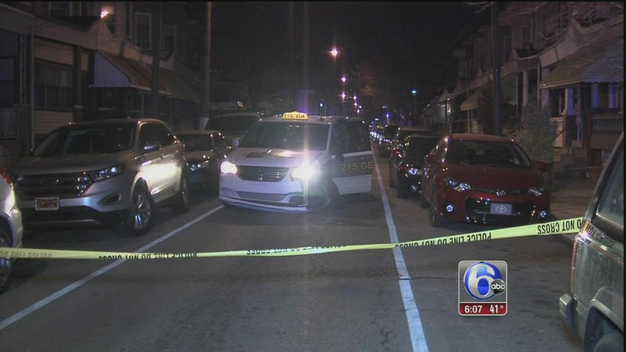 VIDEO: Cab driver shot, crashes