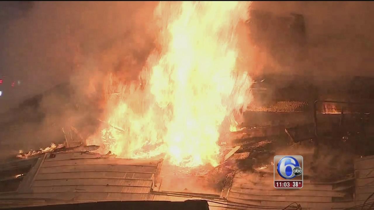 VIDEO: Millville fire