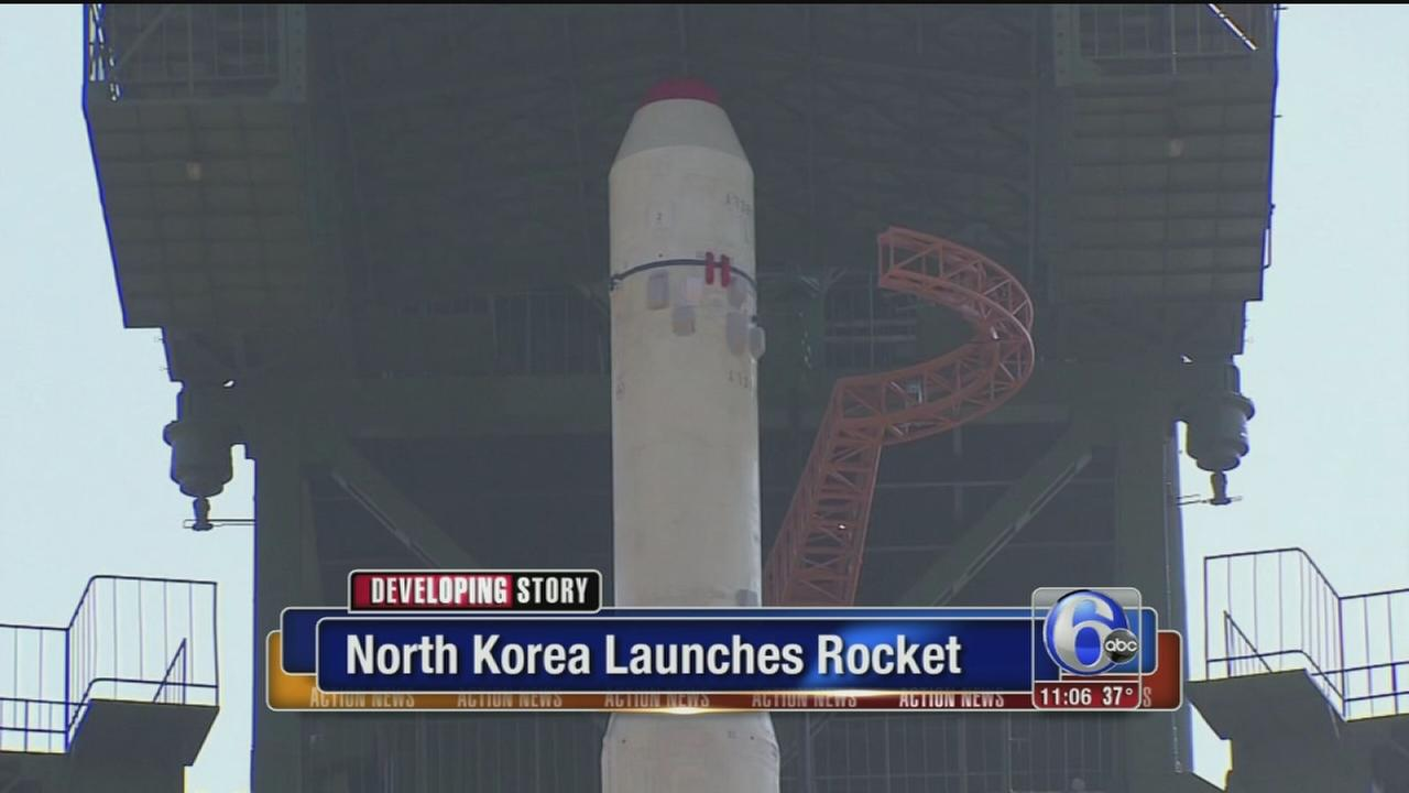 VIDEO: N. Korea launches rocket