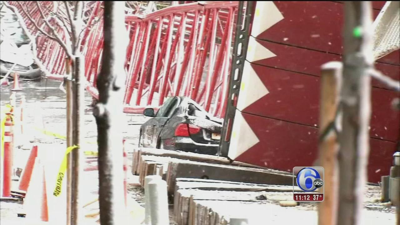 VIDEO: Crane collapse update