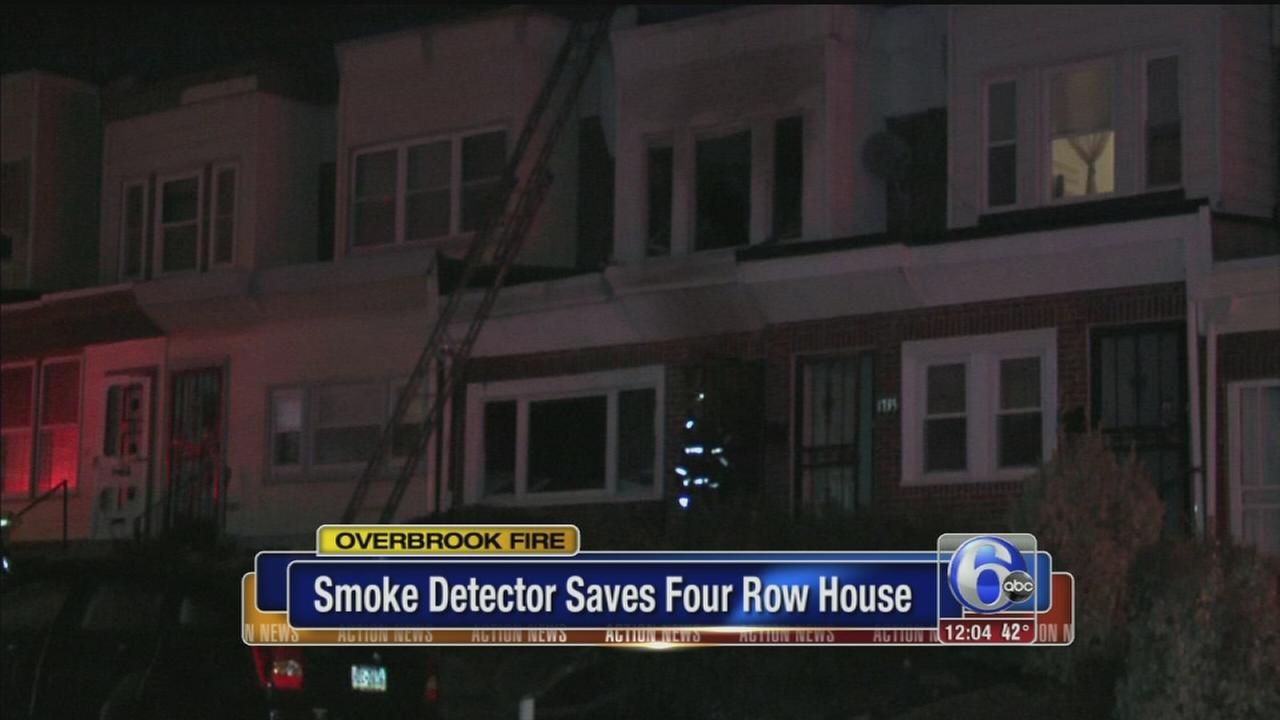 VIDEO: Smoke detector saves 4 from fire