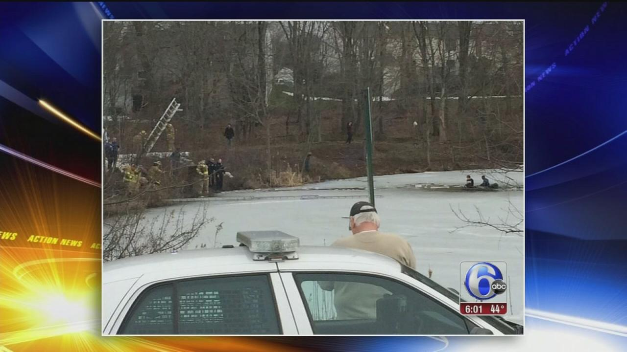 VIDEO: Water rescue