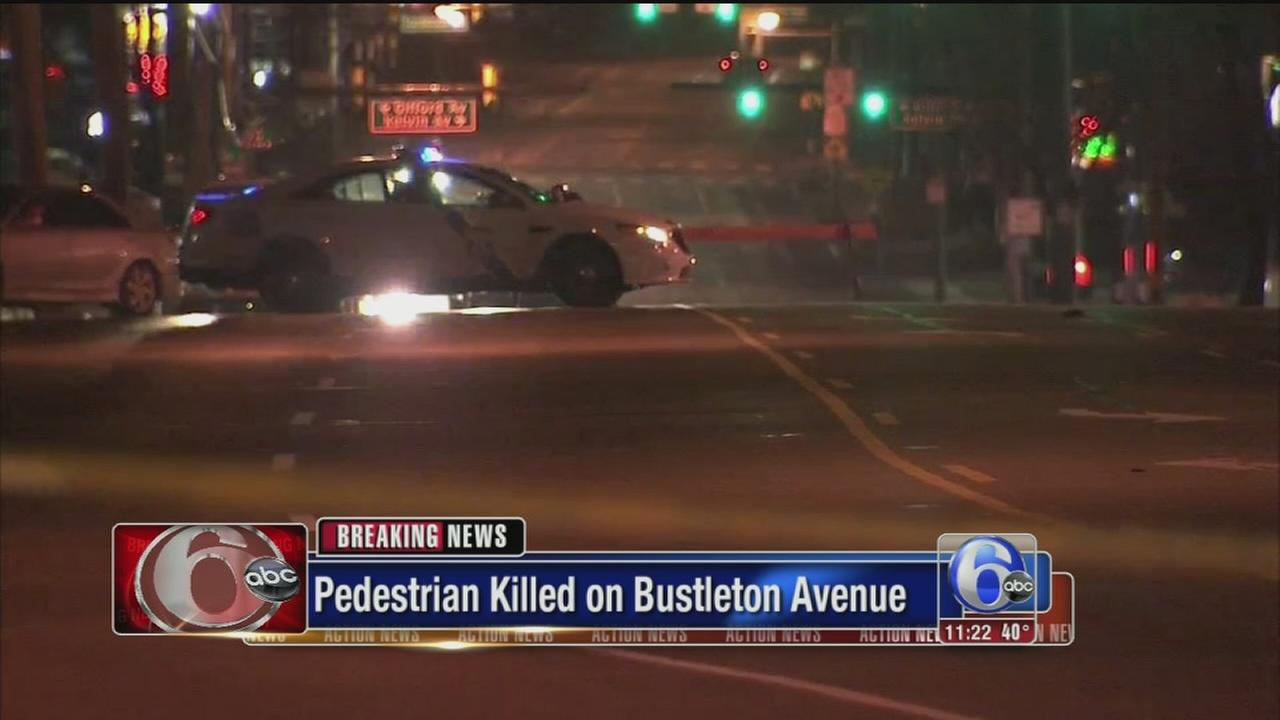 VIDEO: Bustleton ped