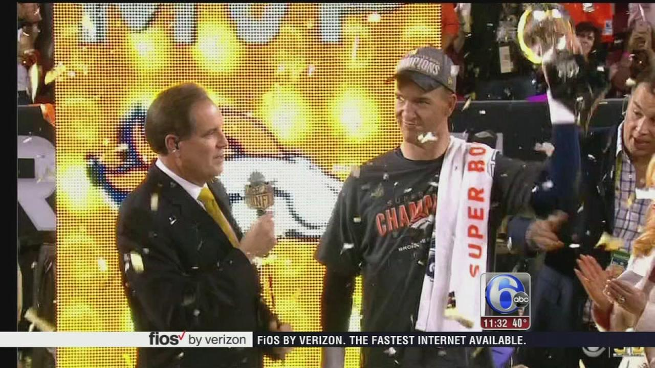 VIDEO: Broncos take Super Bowl 50