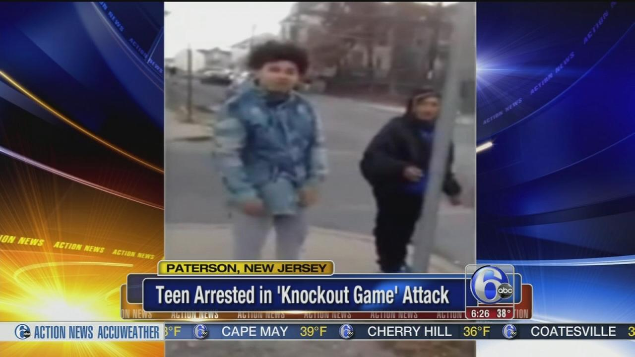 VIDEO: Teen arrested after knockout game attack