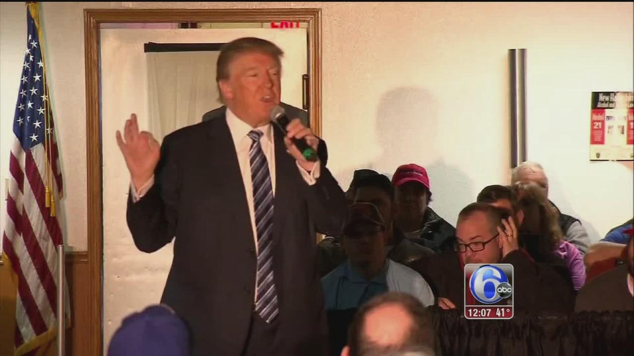 VIDEO: Candidates prepare for New Hampshire Primaries