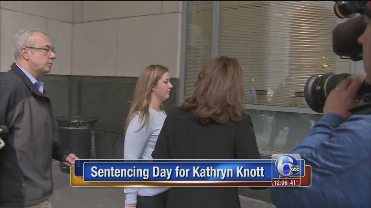 VIDEO: Sentencing day for Kathryn Knott