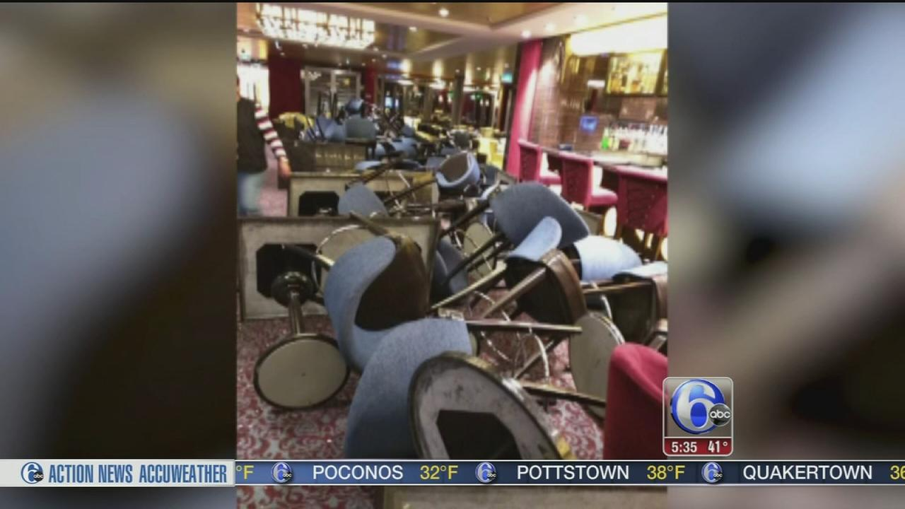 VIDEO: Damaged cruise ship to turn around, sail back to New Jersey