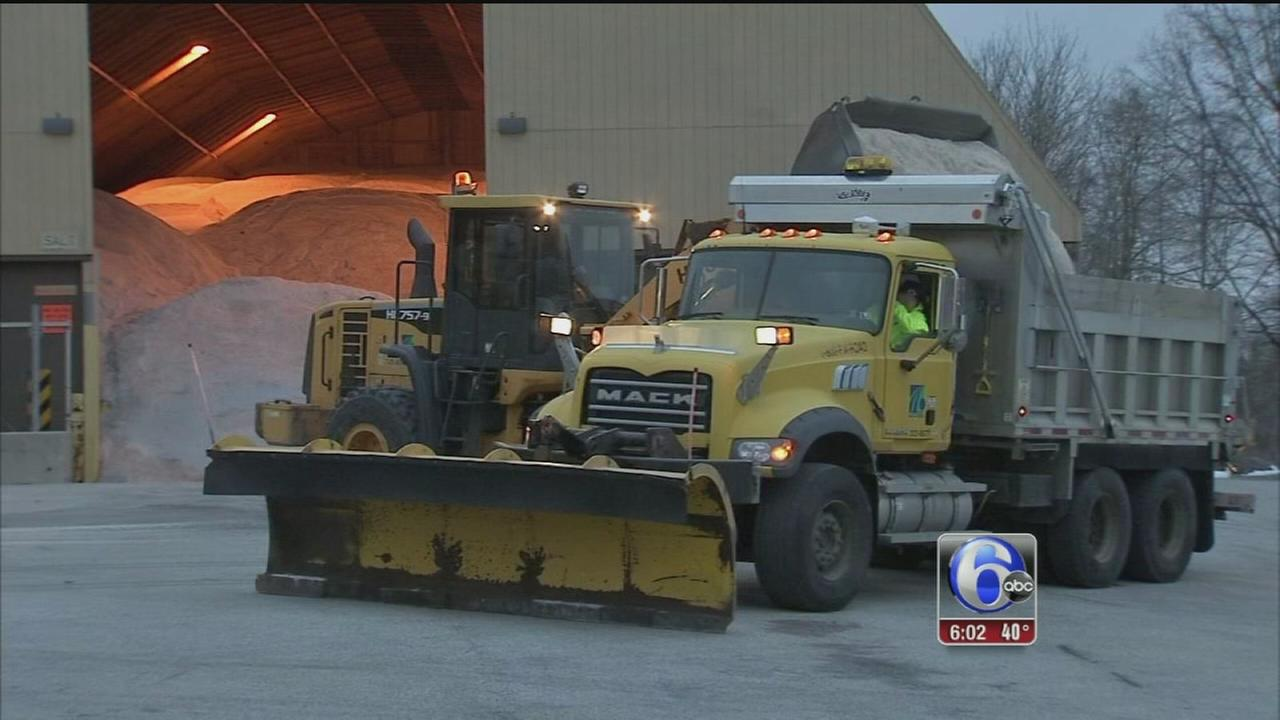 VIDEO: PennDOT prepares for storm