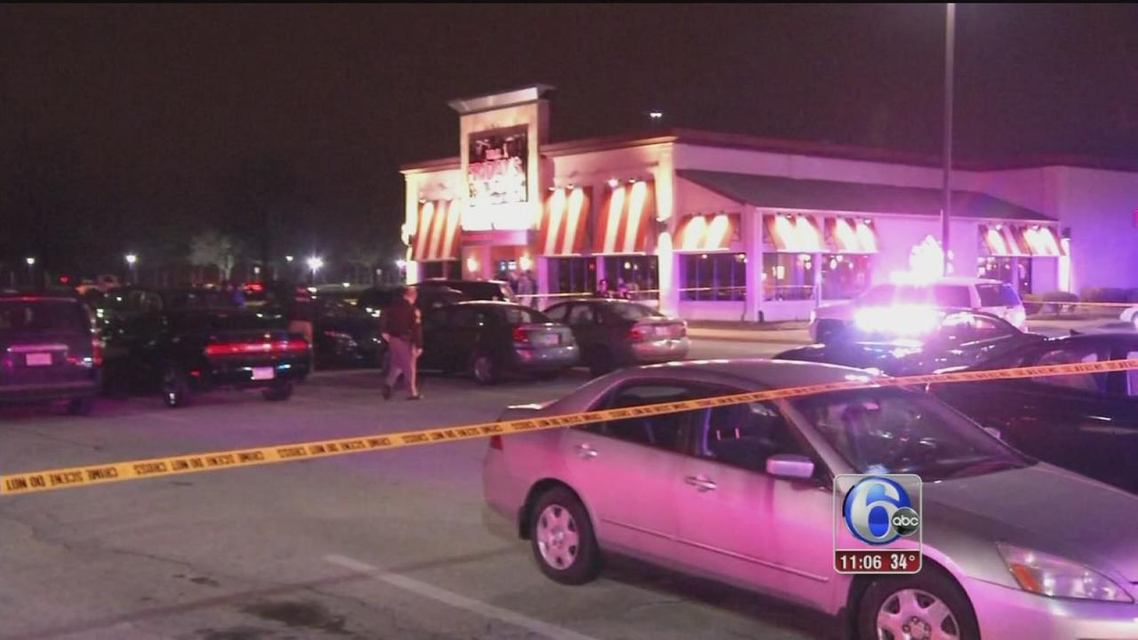 VIDEO: Man murdered outside Del. Fridays
