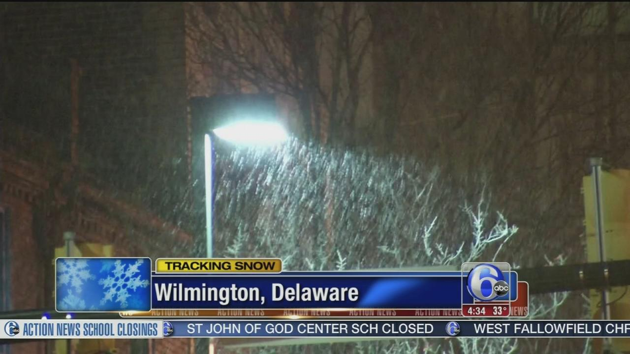VIDEO: Delaware roads ready for snow