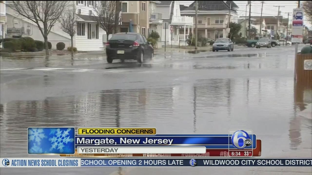 VIDEO: Flood concerns in New Jersey