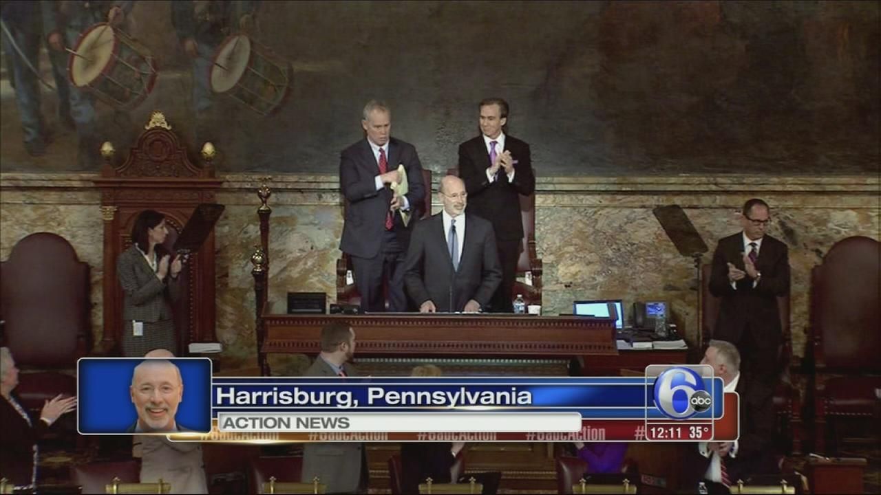 VIDEO: Wolf delivers budget address