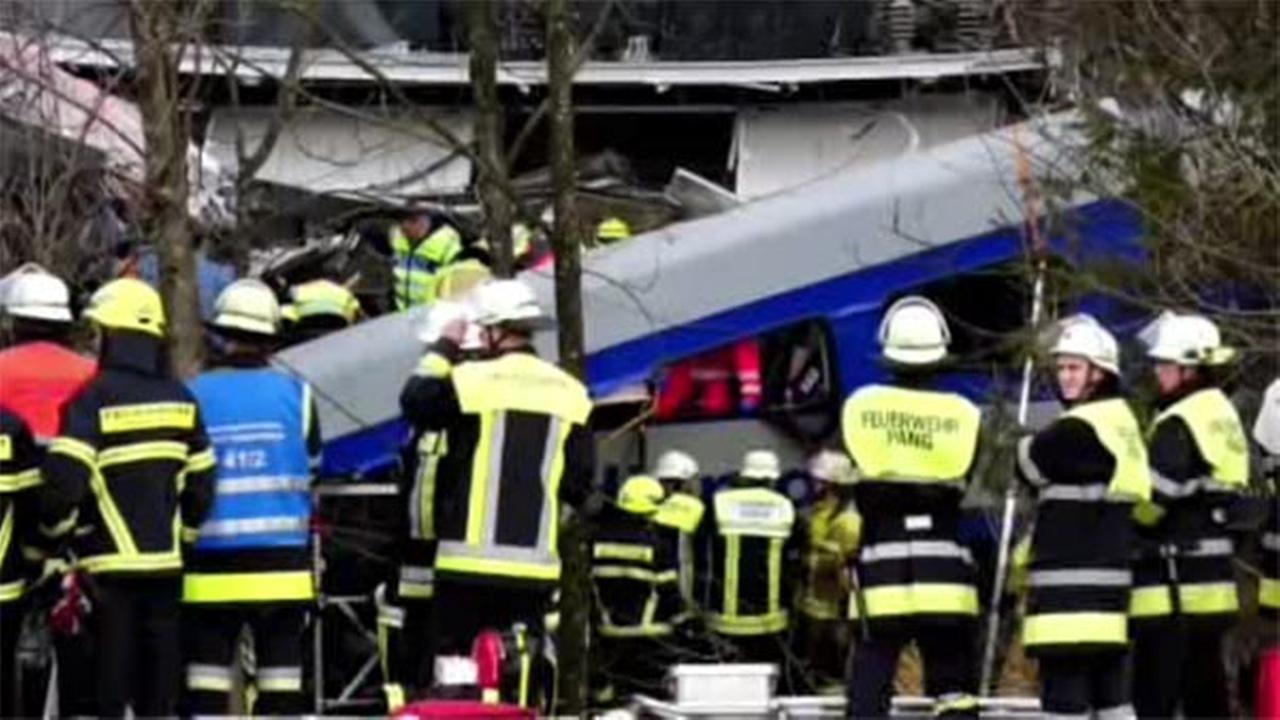 Train crash in Germany kills at least 9, injures 150