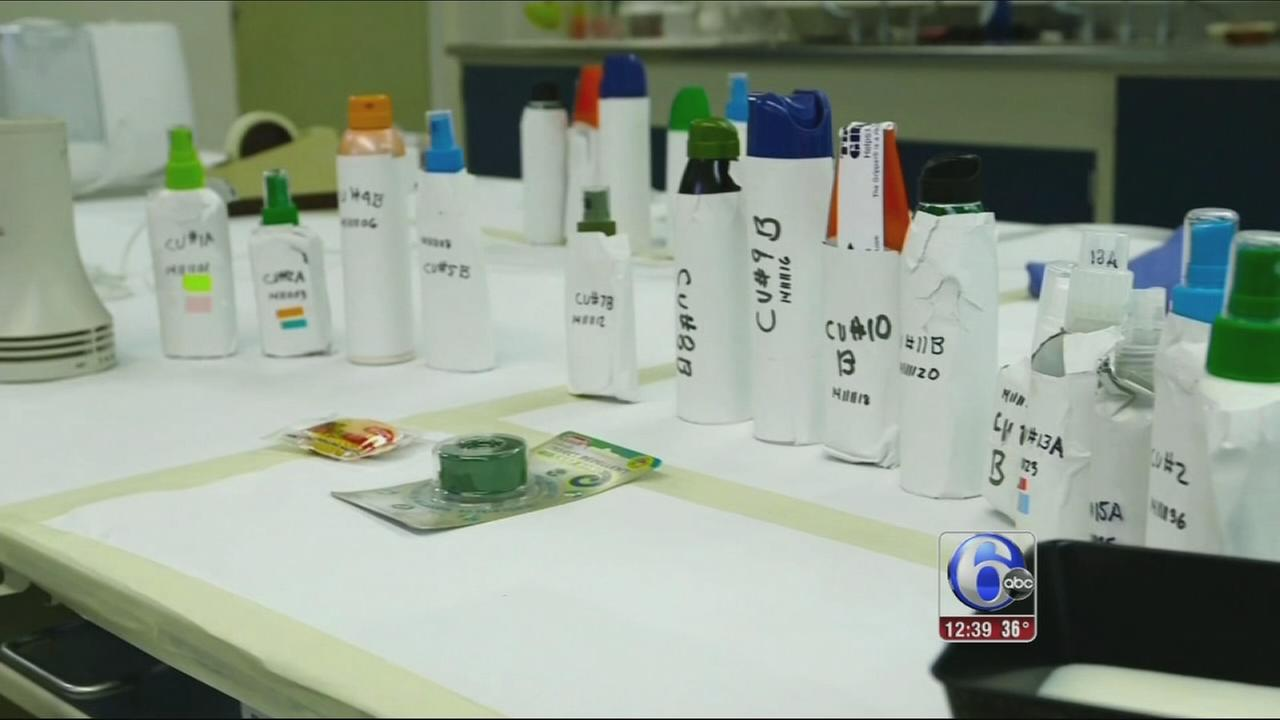 VIDEO: Bug repellents to fight Zika