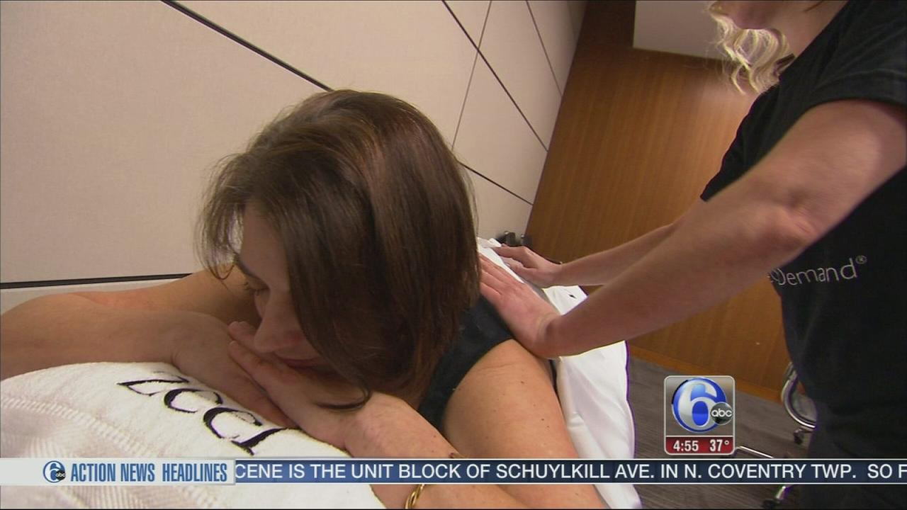 VIDEO: How about a massage on demand