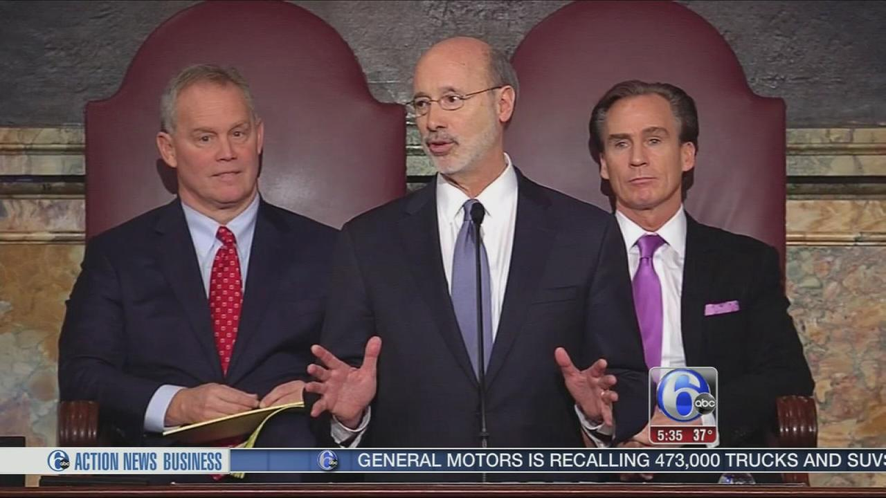 VIDEO: Wolf delivers budget speech with Pa. stuck in gridlock