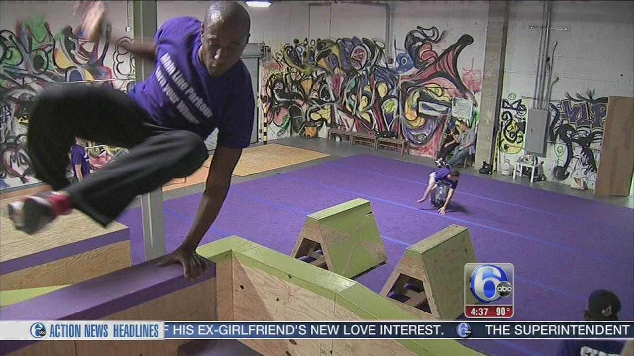 VIDEO: Parkour craze comes to the Main Line