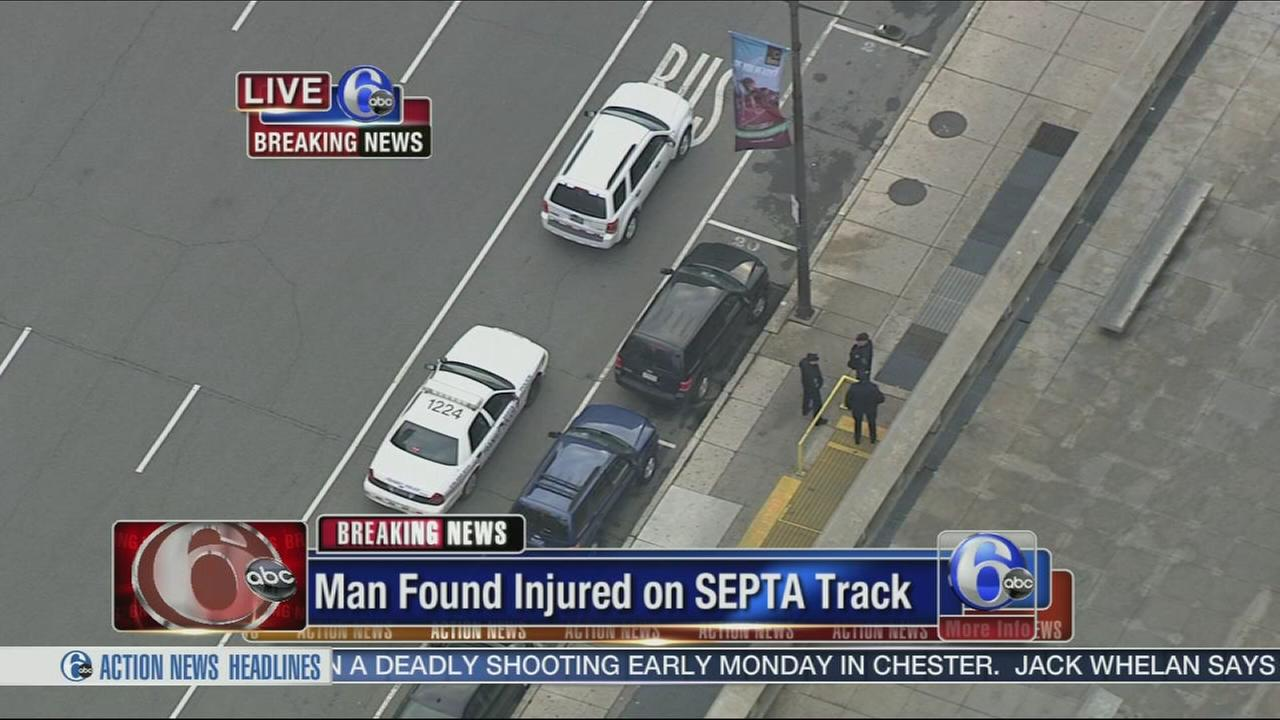 VIDEO: Man found on track