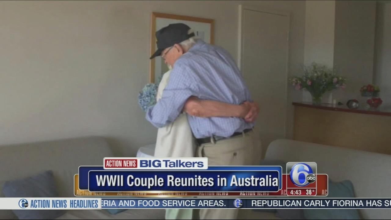 VIDEO: WWII couple reunites