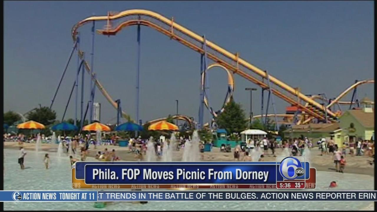 VIDEO: Phila FOP moves picnic from Dorney
