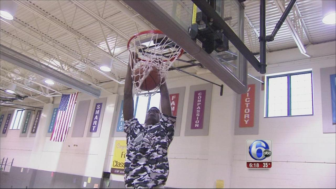 VIDEO: NJ hoops star