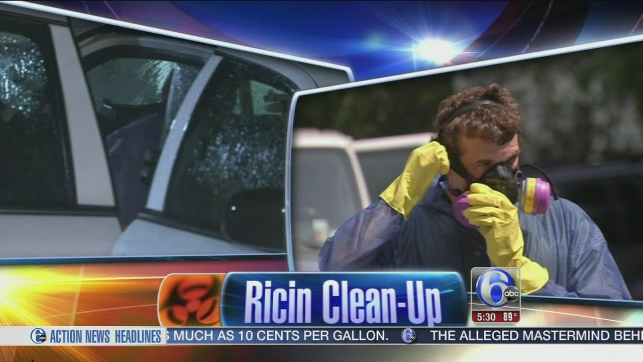 VIDEO: Ricin clean-up at Hatboro suspects home