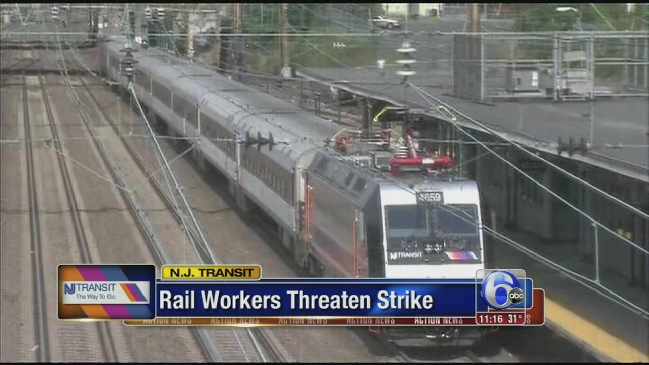 VIDEO: NJ Transit workers strike?