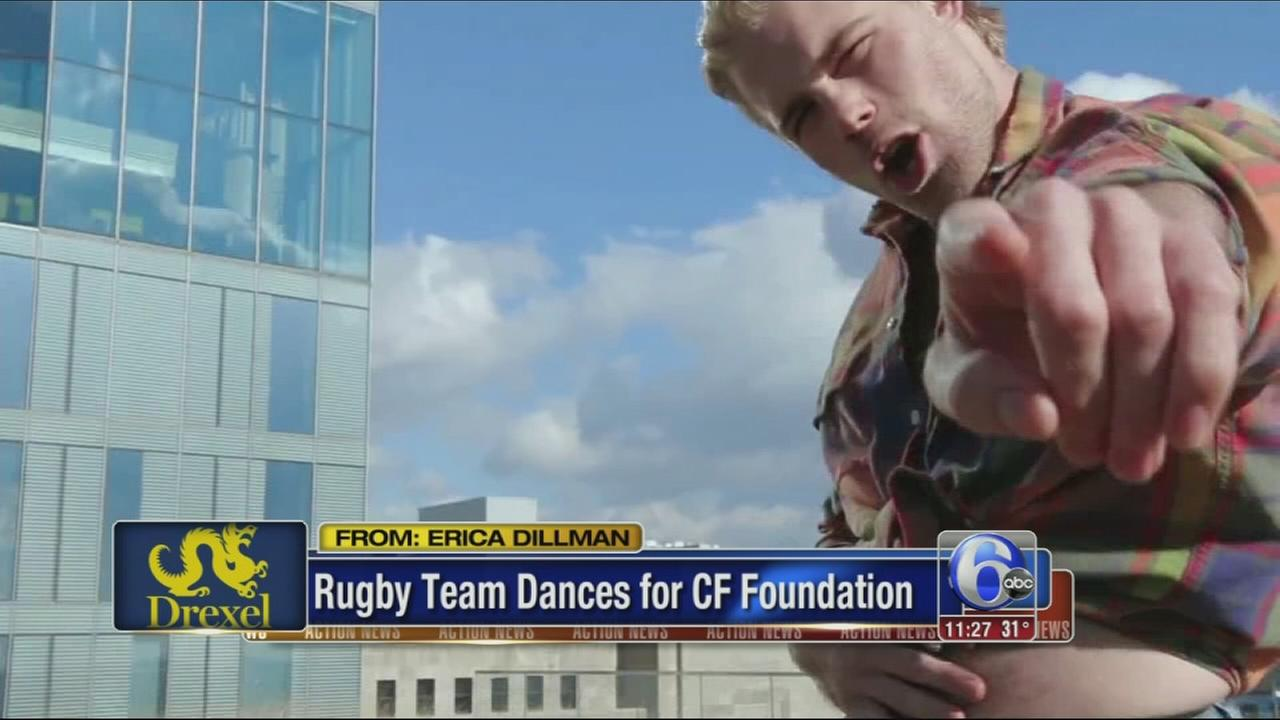VIDEO: Rugby team dances for CF