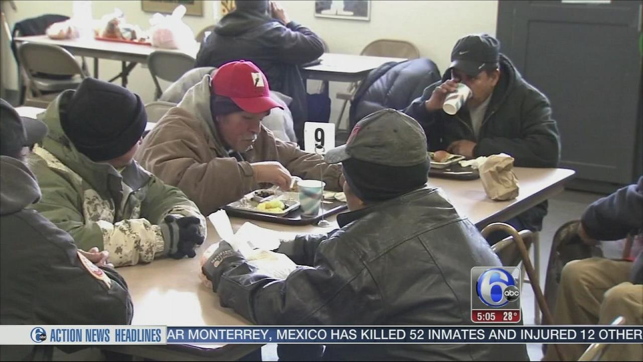 VIDEO: Homeless look for warm place to stay in frigid cold