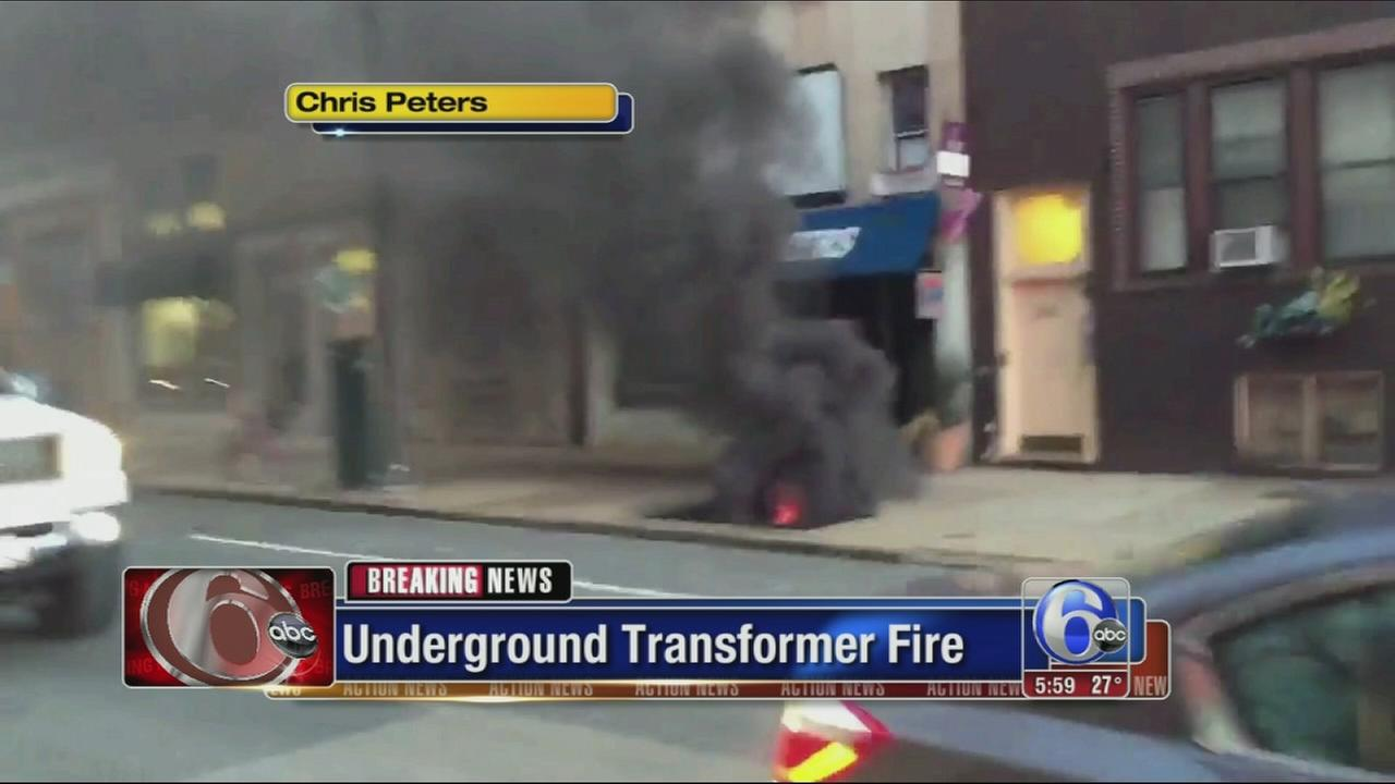 VIDEO: Center City transformer fire leads to evacuations