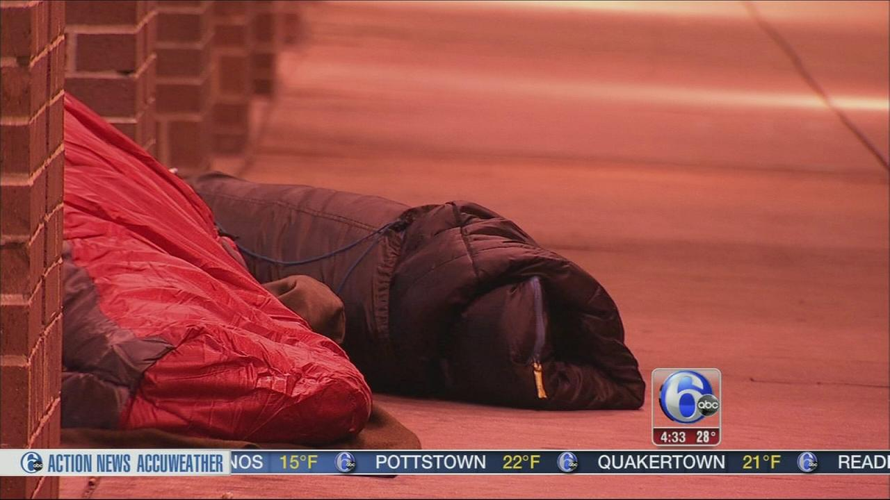 VIDEO: City efforting to get homeless inside during brutal cold