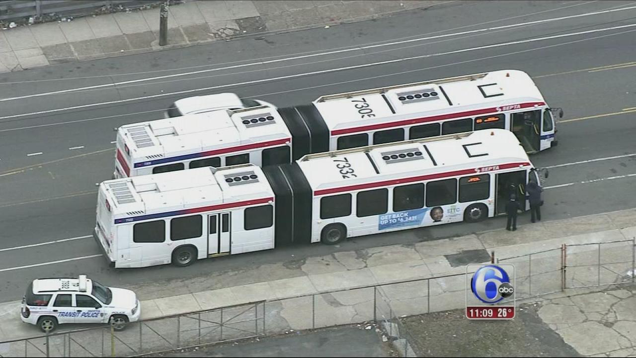VIDEO: SEPTA bus vandals
