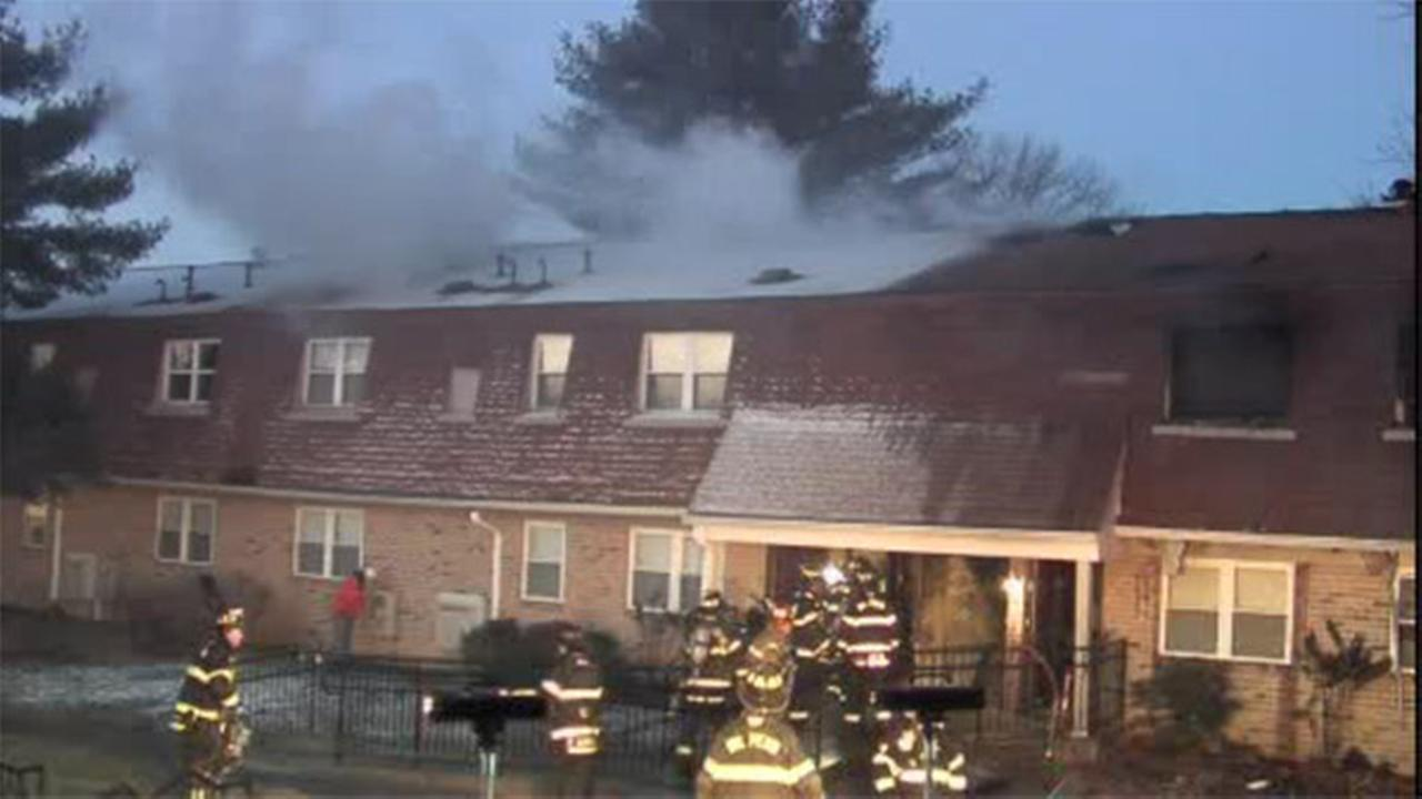 2 injured, 4 apts. destroyed in Bucks County blaze