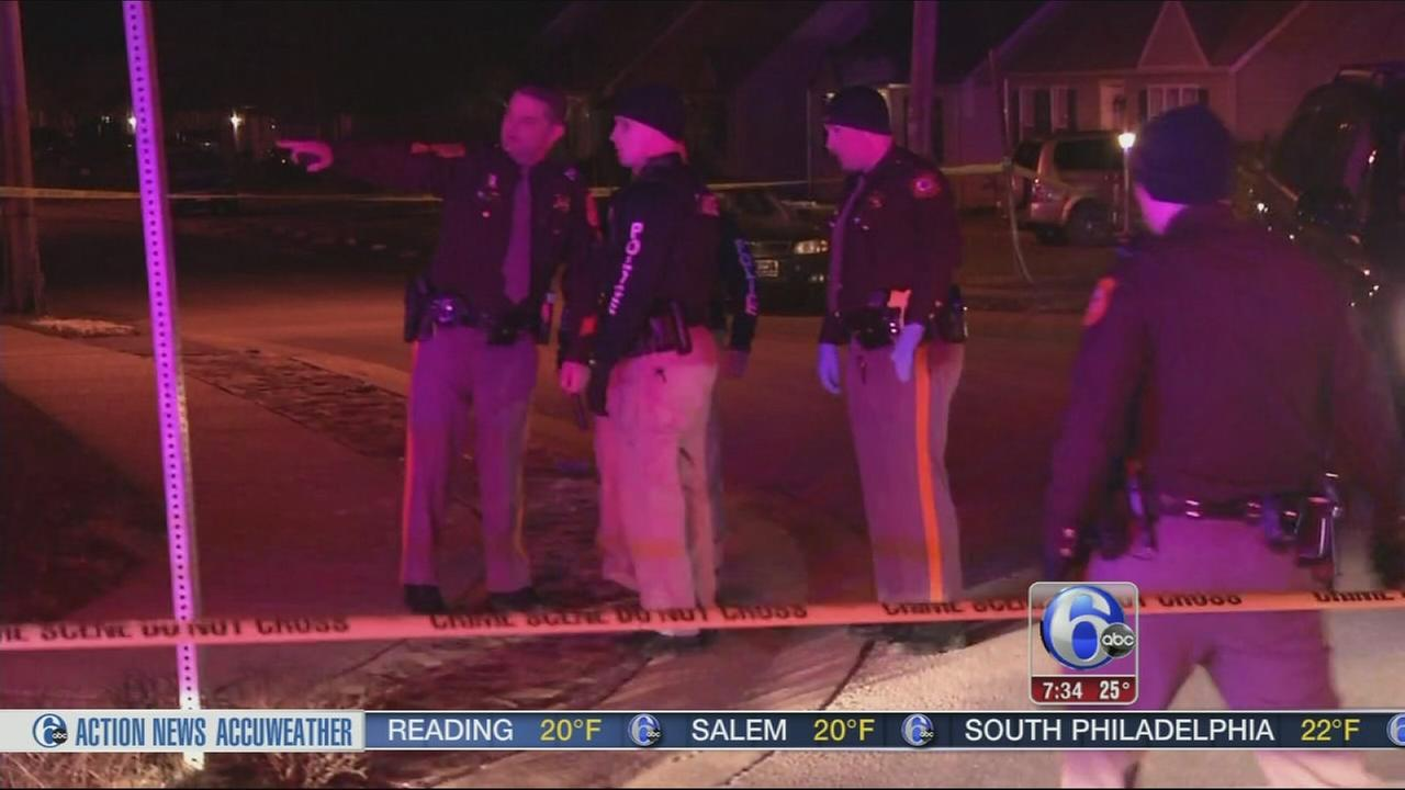 VIDEO: 2 men wounded after shooting in Delaware