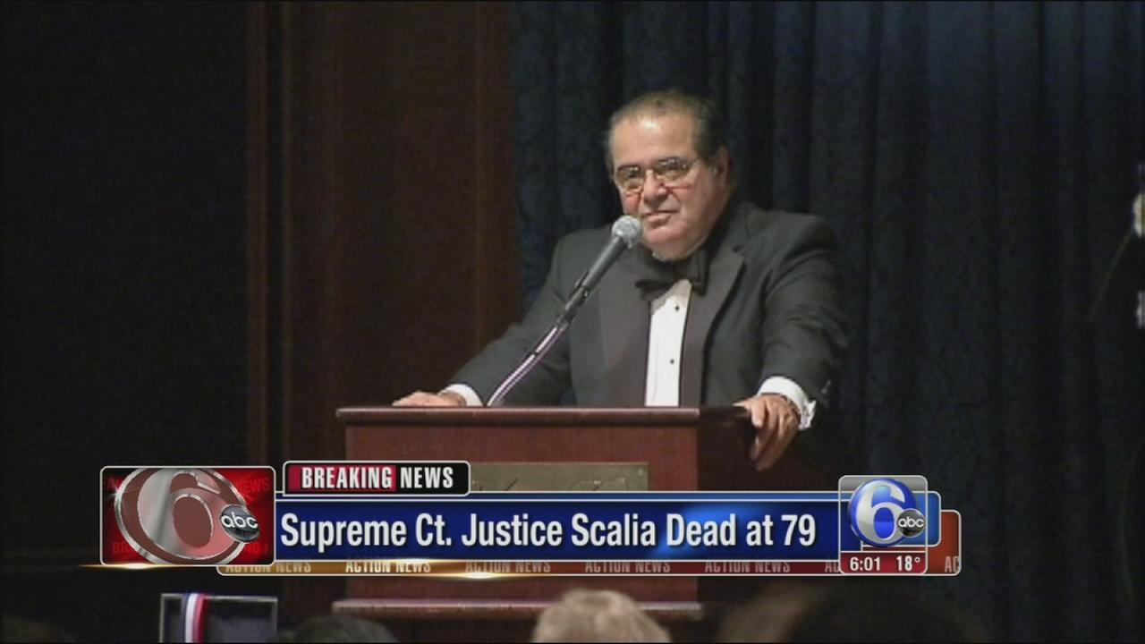 VIDEO: Justice Scalia dies at 79