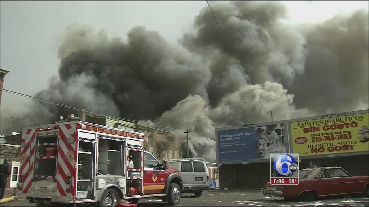 VIDEO: Frankford fire