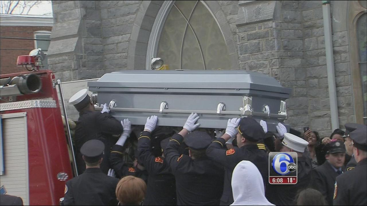 VIDEO: Funeral for Sanford