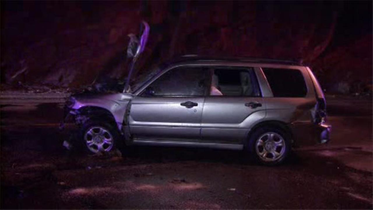 One person is hospitalized after an accident in Fairmount Park.