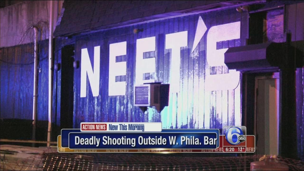 VIDEO: Deadly shooting at West Phila. bar