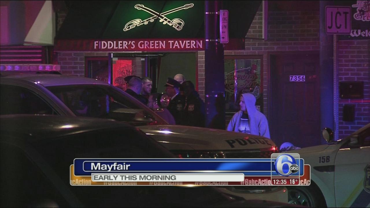 VIDEO: Womans throat slashed inside Mayfair bar