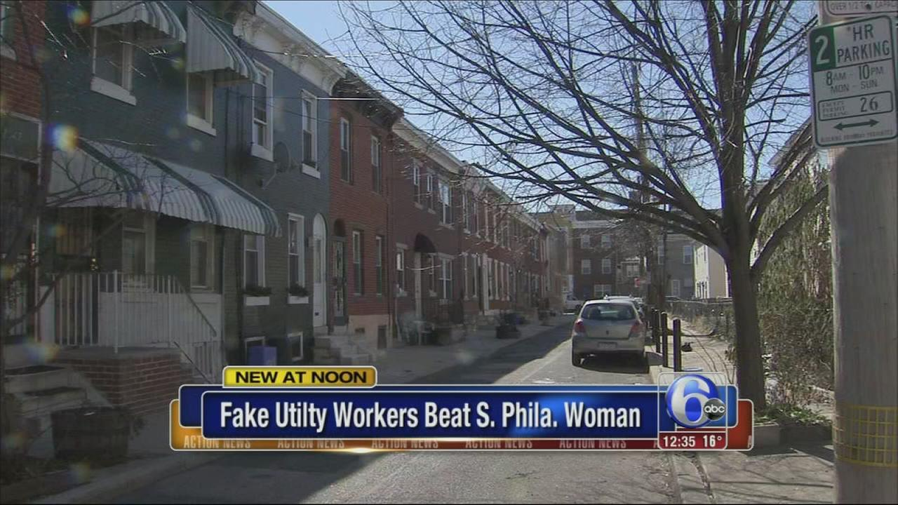VIDEO: Fake workers assault woman