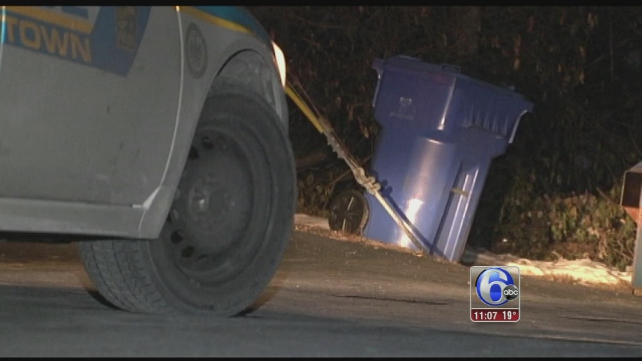 VIDEO: Woman found in bin