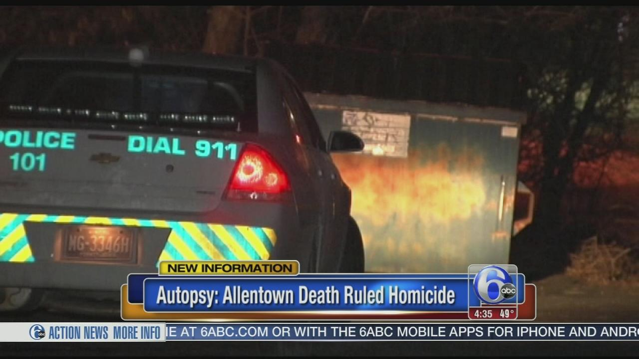 VIDEO: Allentown death ruled homicide