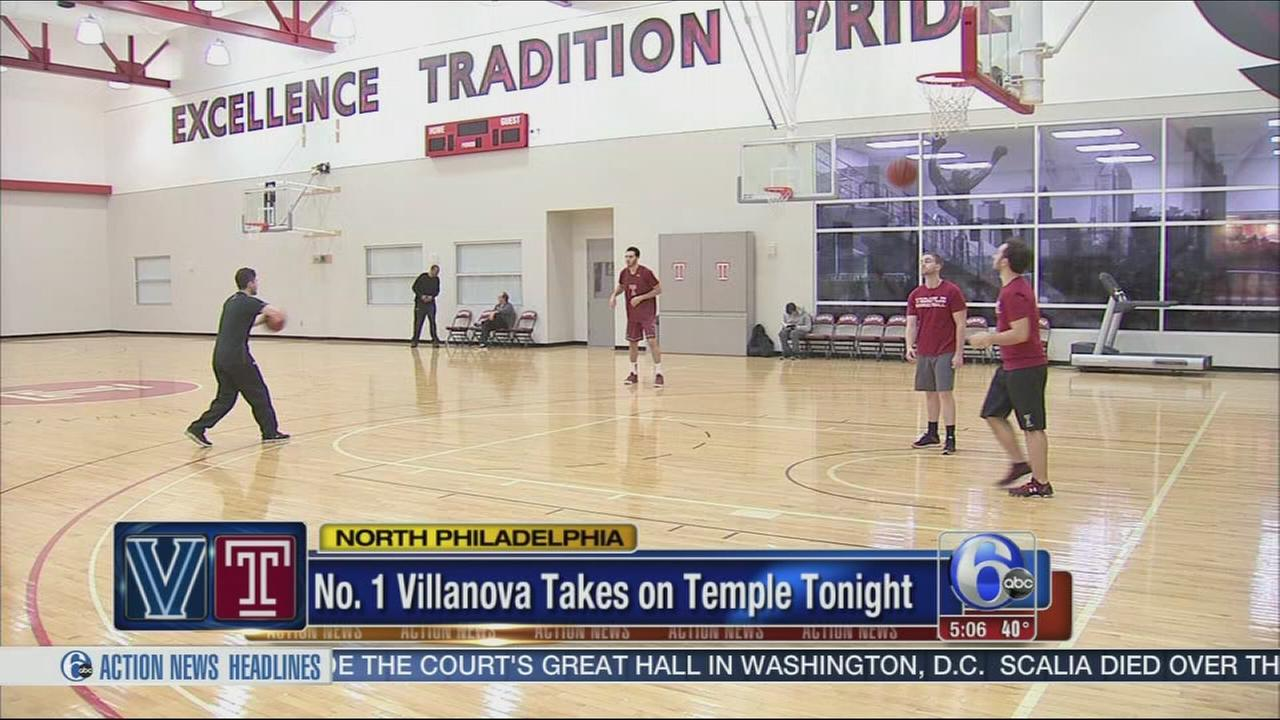 VIDEO: Villanova vs Temple
